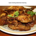 Ayam Goreng dan Sup Ayam