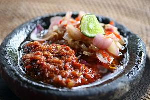 Ulam Bali, tempat makan seafood yang asyik…