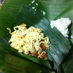 Nasi Jinggo dan Rujak Bulung, Denpasar